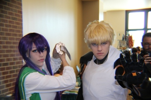 Saeko Busujima and Genos