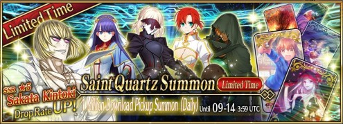 Saint Quartz Summon