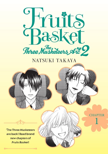 Fruits Basket The Three Musketeers Arc 2