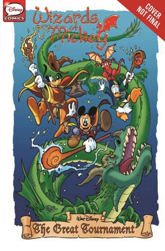 Wizards of Mickey Cvr