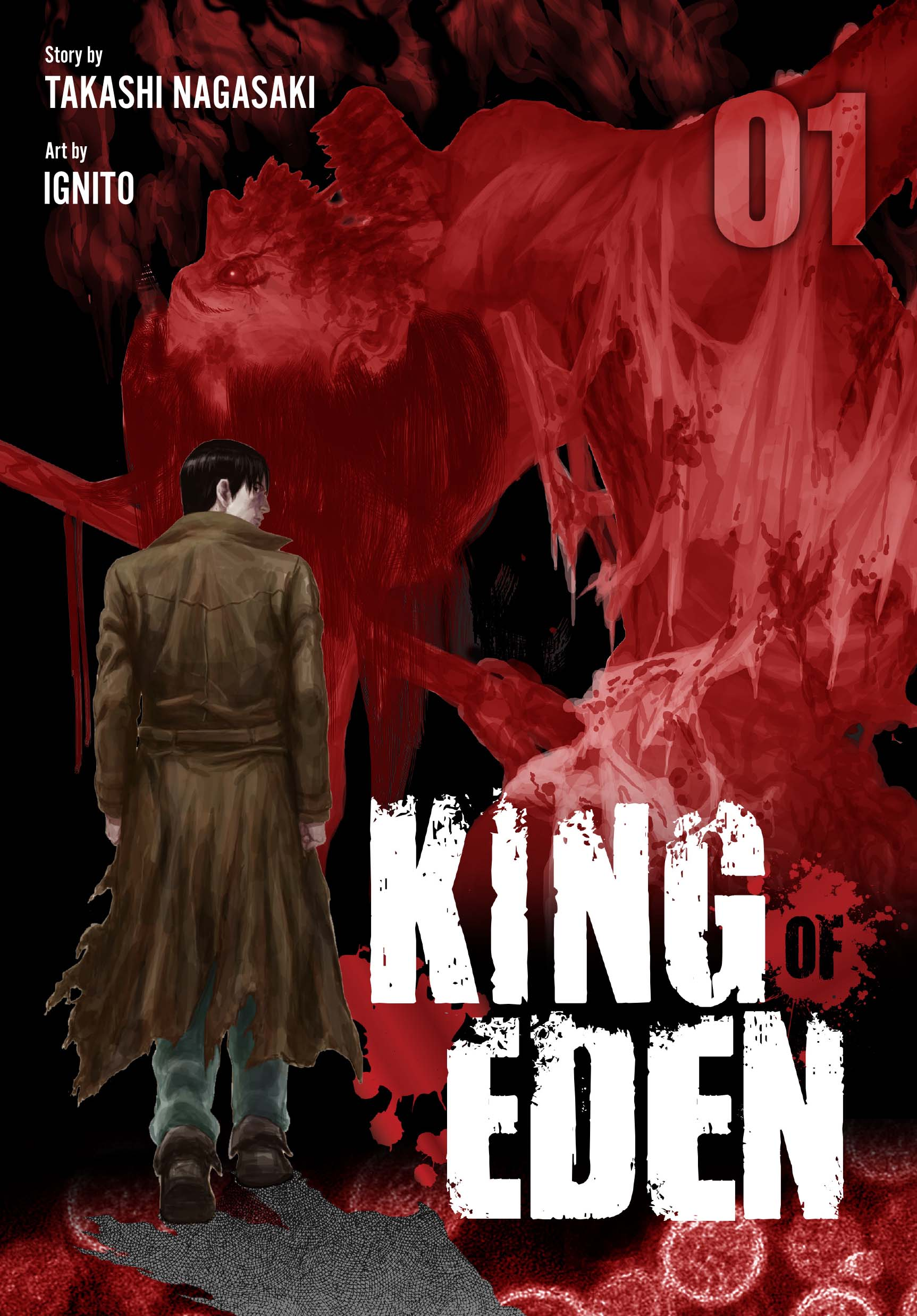 King Of Eden Vol. 1 Cover